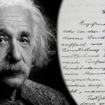 """A """"Carta de Deus"""" de Albert Einstein"""