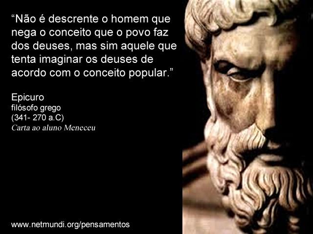 epicuro, epicurismo e filosofia grega