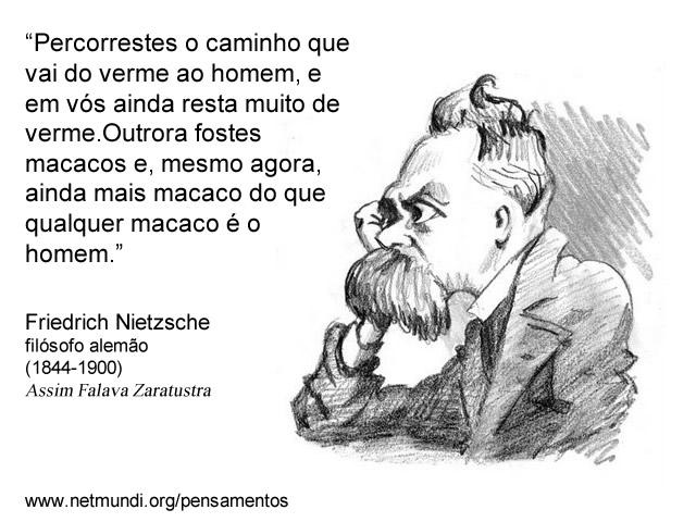 Friedrich Nietzche Assim Falava Zaratustra Filósofo Alemão