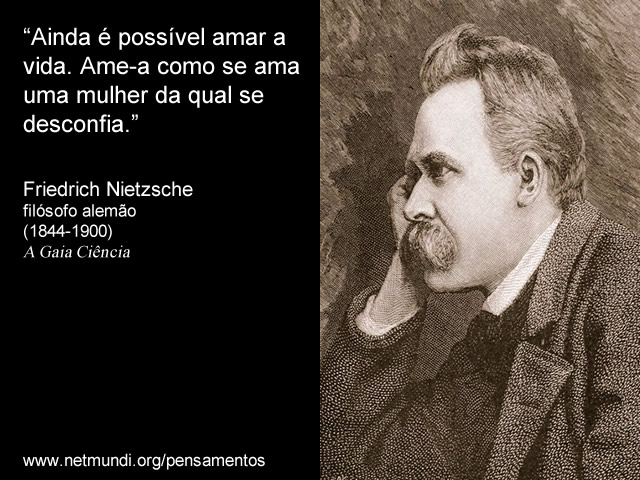 Friedrich Nietzsche filósofo alemão