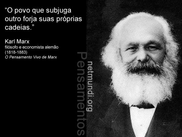 Karl Marx, Filósofo e economista Alemão