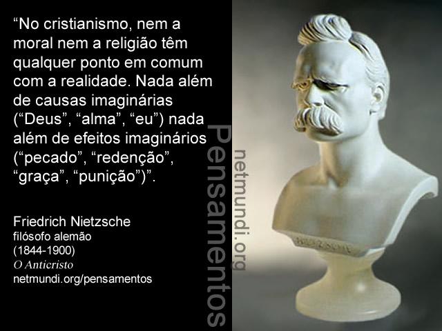 Friedrich Nietzsche, filósofo alemão, (1844-1900)