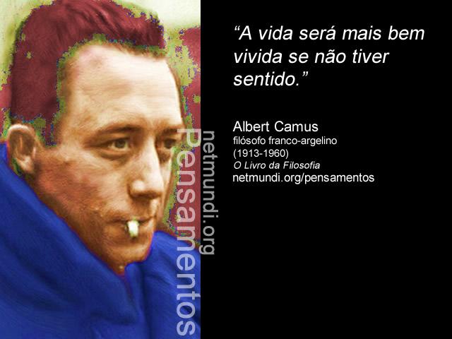 Albert Camus, Filósofo Franco Argelino, Existencialismo e Mito de Sísifo