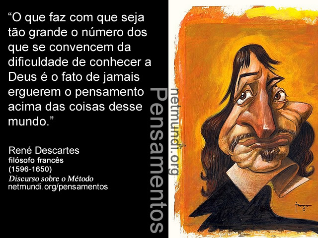 Rene Descartes filósofo francês pais da filosofia moderna