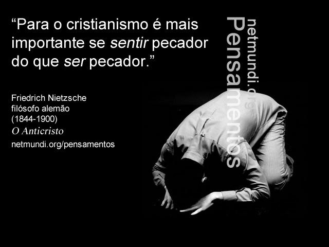 Friedrich Nietzsche, filósofo alemão, o anticristo