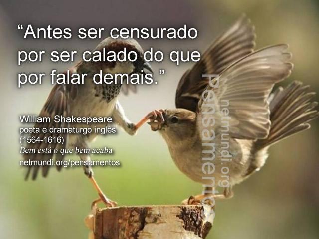 Willian Shakespeare, poeta e dramaturgo inglês