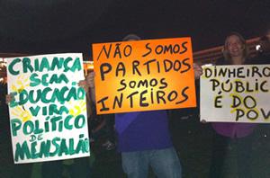 Protestos no Brasil - Brasília, 20/06/2013 - Esplanada dos ministérios