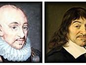 Michel de Montaigne e René Descartes