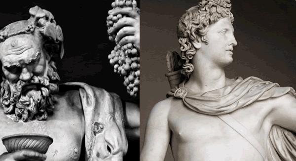 apolíneo e dionisíaco