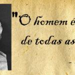 """Protágoras - """"O homem é a medida de todas as coisas"""""""
