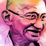 Vídeo com Frases de Mahatma Gandhi (1869-1948)