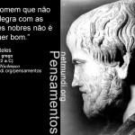 Pensamentos de Aristóteles (384-322 a.C)