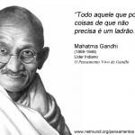 Pensamentos de Mahatma Gandhi (1869-1948)