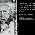 Pensamentos de Arthur Schopenhauer (1788-1860)