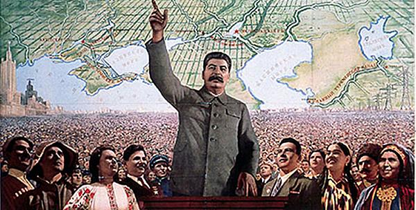 Na Alemanha Nazista e na União Soviética de Stalin a propaganda política grandiosa transmitia uma impressão paternal e revolucionária em prol do futuro de uma grande nação, mas no fundo escondia a personalidade doentia e genocida de seus líderes.