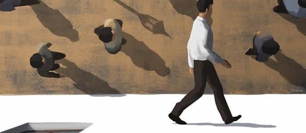 arte de passear e os filósofos