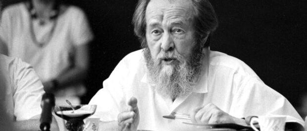 Alexander Solzhenitsyn sobre o sofrimento