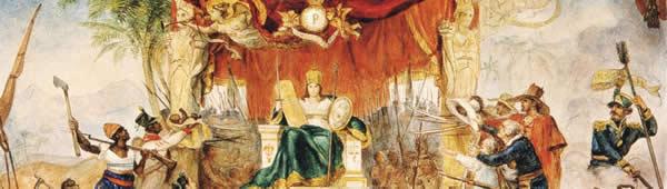 Alegoria da Independência do Brasil, de Jean-Baptiste Debret