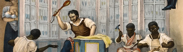Loja de Sapateiro, de Jean-Baptiste Debret