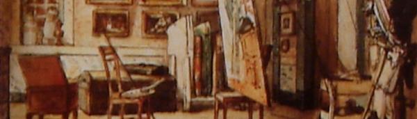 Meu ateliê do Catumbi no Rio de Janeiro, de Jean-Baptiste Debret