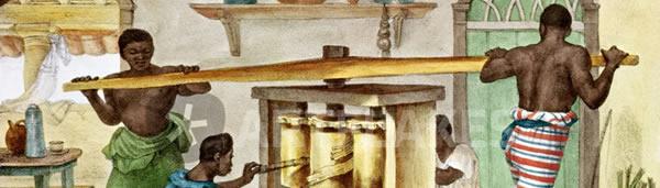 Pequeno moinho de açúcar, de Jean-Baptiste Debret