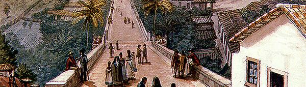 Ponte de Santa Efigênia, de Jean-Baptiste Debret