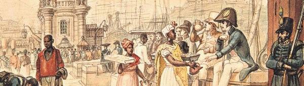 Vendedores ambulantes, de Jean-Baptiste Debret