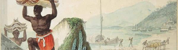 Desembarque de Telhas, de Jean-Baptiste Debret