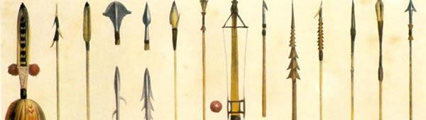 Flechas Indígenas, de Jean-Baptiste Debret