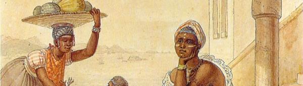 Negra vendendo caju, de Jean-Baptiste Debret