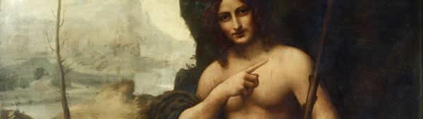 Leonardo Da Vinci - Baco /Bacchus