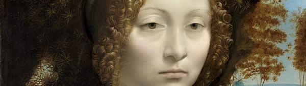 Leonardo Da Vinci - Retrato de Ginevra De Benci