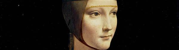 Leonardo Da Vinci - Senhora com Arminho