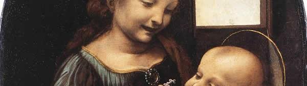 Leonardo Da Vinci - Virgem de Benois