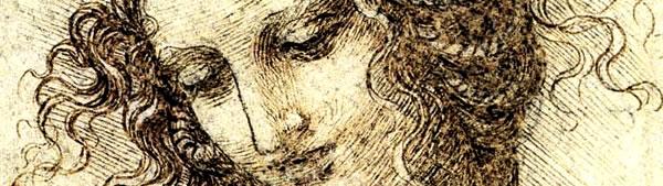 Estudo de Cabeça de Leda - Leonardo da Vinci