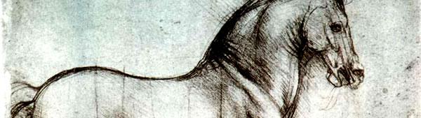 Estudo sobre Cavalo - Leonardo da Vinci