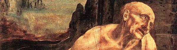 São Jerônimo no deserto - Leonardo da Vinci