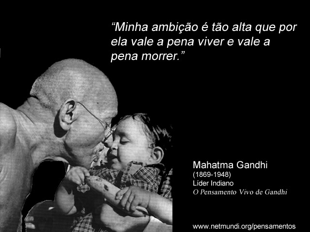 Mahatma Ghando Líder Indiano