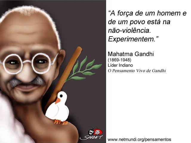 Mahatma Gandhi Líder Indiano