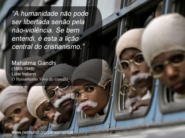 Mahatma Gandhi Pensamentos