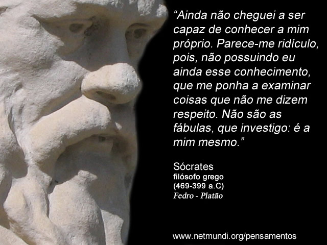 Sócrates Pensamentos Fedro