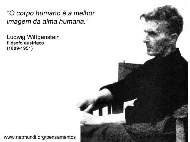 Ludwig Wittgenstein filósofo austríaco (1889-1951) Wittgenstein