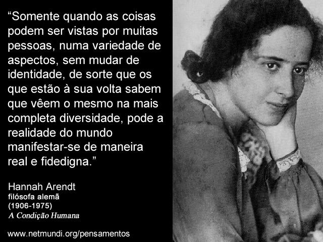 Hannah Arendt Filósofa Alemã