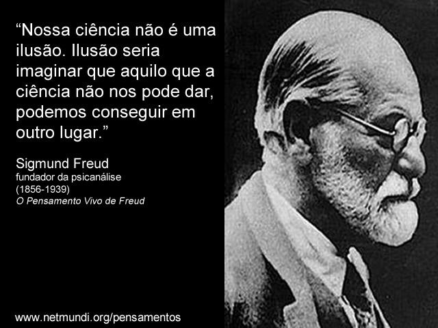 Sigmund Freud, fundador da psicnálise