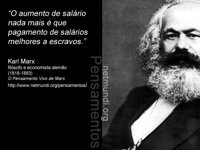 Karl Marx, economista e filósofo