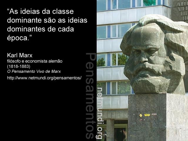 Karl Marx, economista e filósofo alemão