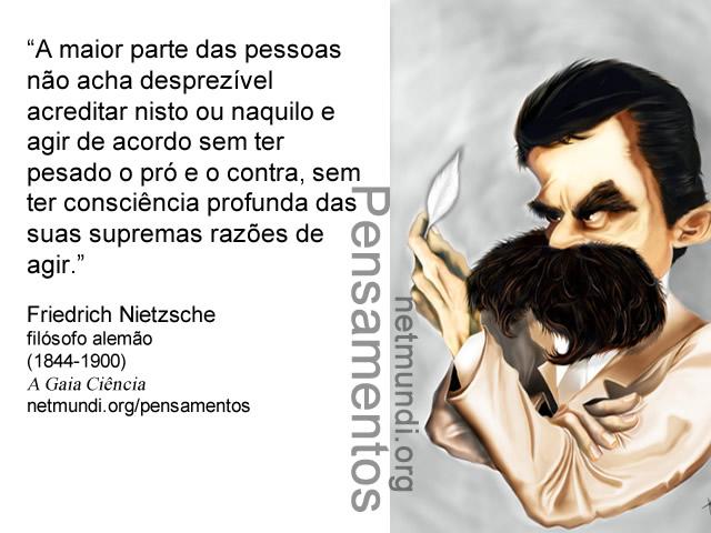 Fredrich Nietzsche, Filósofo Alemão