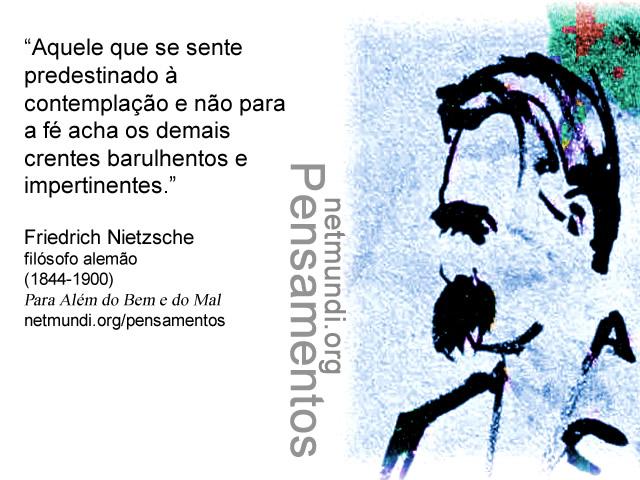 Friedrich Nietzsche, Filósofo Alemão