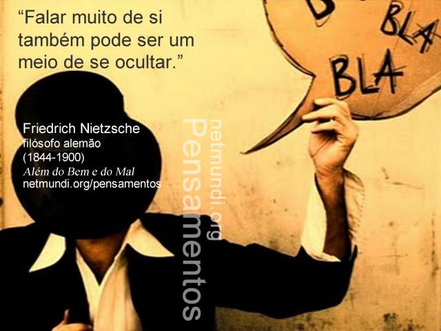 Friedrich Nietzsche, filósofo alemão, (1844-1900), Além do Bem e do Mal