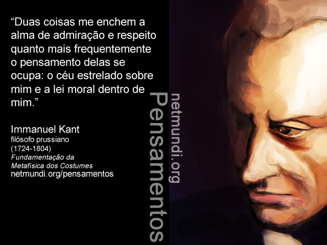 Immanuel Kant, Filósofo Prussiano